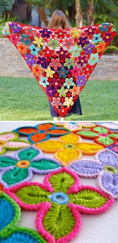 Crochet Flowers Pattern Hawaiian Flowers Crochet Pattern Tutorial - You will love this Hawaiian Flowers Crochet Pattern and we have a video tutorial for you to view also. Check out all the great ideas now. Crochet Pattern Free, Crochet Motif, Crochet Stitches, Tutorial Crochet, Pattern Sewing, Crochet Puff Flower, Crochet Flower Patterns, Crochet Designs, Crochet Flowers