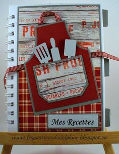 Album de recettes Passion, Recipe Scrapbook, Recipes
