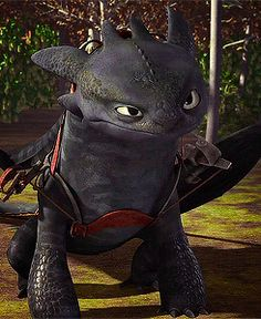 Love Toothless's expressions. XD