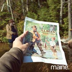 Maine Magazine feature of L.L.Bean