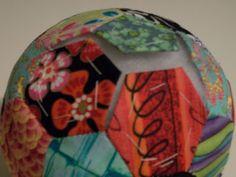 "Louis Folk Victorian: Pincushion Tutorial ""Ride-Along"" Pincushion Tutorial, Folk Victorian, Ride Along, English Paper Piecing, Pin Cushions, Christmas Bulbs, St Louis, Quilts, Holiday Decor"