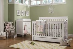 Piedmont 4-in-1 Convertible Crib with Toddler Bed Conversion Kit | DaVinci Baby
