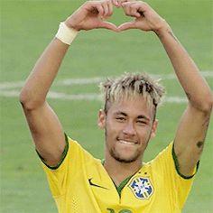 neymar   Tumblr Neymar Brazil, Neymar Pic, World Cup 2014, Football Players, Couple Goals, My Love, People, Sports, Soccer Stuff