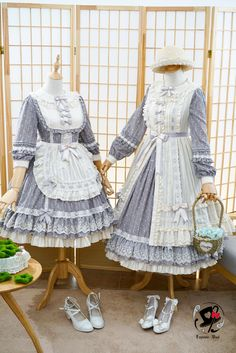 #LolitaUpdate: [-★❤-The Maiden Who Picks Up Star Dust-❤★-] Apron and Surface Layer Dress