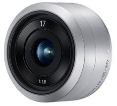 Samsung EX-YN17ZZZASUS 17 mm Lens for NX Mini (Silver)