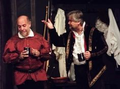 Dale Simon and George Hartpence in Equivocation at ActorsNET