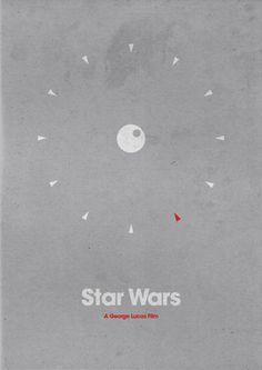 Star Wars Minimal Movie Poster