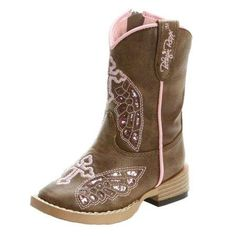Side Zip Blazin Roxx Western Boots Girls Kids Gracie Cross Wings Infant 44132 Kids Blazin Roxx Western Boots: Girls Blazin Roxx Western Boots. This Blazin Roxx Children's Gracie boot is the cowboy boot for a fashion conscious cowgirl. With cross and wing details like a grown up boot. The square toe and roper heel are all cowgirl! 100% man made materials. Grandma Bait-Get Hooked.