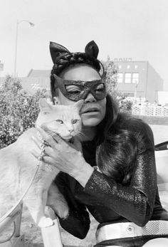 "Eartha Kitt as "" Catwoman """