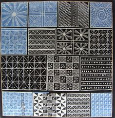 Nike Davies Okundaye - Africa on the Floor Indigo, Pattern Meaning, Embroidery Shop, African Artists, African Textiles, African Masks, Textile Design, Cool Things To Buy, Flooring
