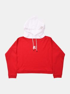 In a simple two-tone colourway, the Rich Cropped Hoodie is a comfy midweight cotton essential. Cropped Hoodie, Streetwear Fashion, Street Wear, Tights, Hoodies, Sweaters, Cotton, Women, Style
