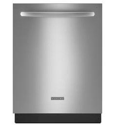 KitchenAid® 24-Inch 5-Cycle/6-Option Dishwasher, Architect® Series II (KUDE48FXSS Stainless Steel) |