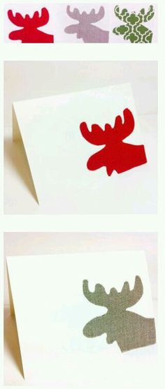 The Simple Moose Christmas Card 49 Awesome DIY Holiday Cards Diy Holiday Cards, Christmas Cards To Make, Diy Cards, Handmade Christmas, Christmas Time, Christmas Moose, Holiday Crafts, Holiday Fun, Diy Weihnachten
