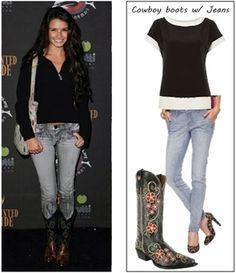 60 Best How To Wear Cowboy Boots Images Cowboys Cowgirl Outfits