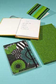 Marimekko´s Stationery Fine Paper, Paper Art, Mixed Media Journal, Stationery Pens, Pretty Notes, Marimekko, Journal Covers, Layout, Graphic