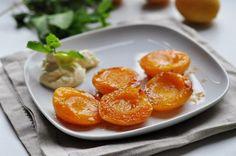 Запеченные абрикосы
