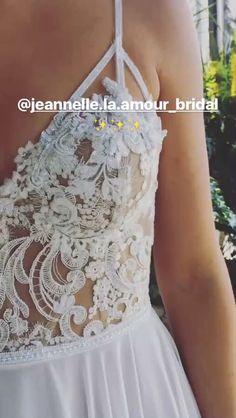 Geneva gown from Jeannelle la Amour bridal 2017 #bohobride #caseyjeanne Boho Bride, Designer Wedding Dresses, Bridal Gowns, Inspiration, Fashion, Dress Wedding, Gowns, Bride Dresses, Biblical Inspiration