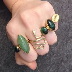 Rings by Gabriella Kiss @QUADR