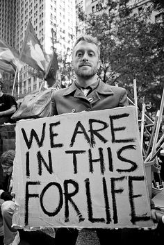 OWS protester in it for the long haul