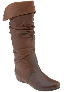 #Steve Madden Flat Brown Boots... YES PLEASE!