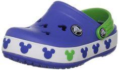 Crocs Crocband Mickey II Clog (Toddler/Little Kid),Sea Blue/Lime,J2 US Little Kid crocs,http://www.amazon.com/dp/B004022D5E/ref=cm_sw_r_pi_dp_PHV.rb0H1NNXHED9
