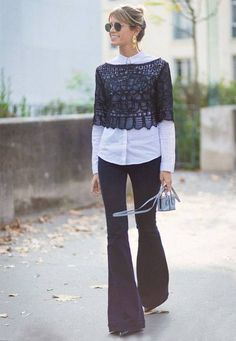 helena-bordon-street-style-flare-pants-shirt-casual