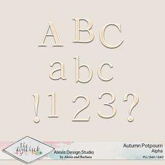 Autumn Potpourri - Full Alpha Set