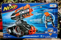 Bring on the sun, beach, ice cream, and Nerf guns! Get your kids away from the screen and outside with NERF blasters! They're fun for both kids and parents! Georgia, Atlanta, Mc G, Aromatherapy Recipes, Toy R, Journey, Age, Kids And Parenting, All In One