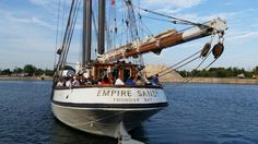 The Empire Sandy up close and personal! Canal Days, Port Colborne, ON.