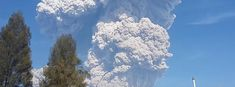 Massive eruption at Sinabung volcano, ash to 16.7 km (55 000 feet) a.s.l.  {PROPHECY: VOLCANOES IN THE ENDTIMES - Joel 2:30-31; Acts 2:19}