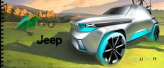 A personal JEEP suv concept exterior project ,just trying a new offroad lifestyle for two people.