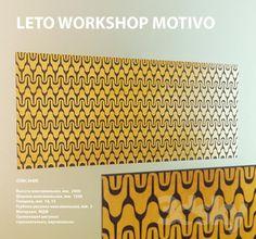 3D Panel LETO / Motivo