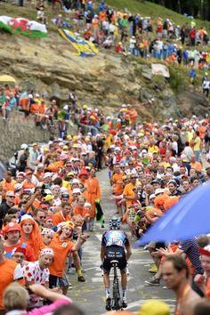 De waanzin op Alpe-d'Huez in 50 beklijvende foto's - Sportwereld