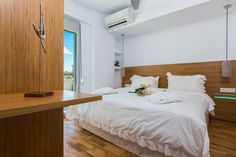 www.thalasses.com Thalasses Villas , Villa Melia in Pigianos Kampos, Rethymno, Crete, Greece #vacation_rental #thalasses_villas #4_luxurious_villas #villa_Melia #luxurious_accommodation #summer_holidays #privacy #summer_in_crete #Visit_Greece #indoors #bedroom