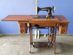 Sewing Machine 希少CROSSSTAR足踏みミシン大正アンティークレトロ インテリア 雑貨 家具 Antique ¥100yen 〆05月30日