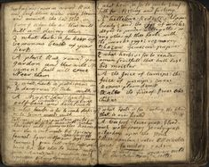 18th century Scottish cunning man's herbal grimoire