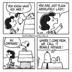 First Appearance: March 29th, 1980 #peanutsspecials #ps #pnts #schulz #snoopy #lucyvanpelt #plain #absolutely  #lazy #aucontraire #beagle #fatigue www.peanutsspecials.com