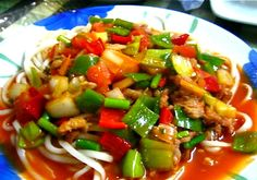 Xinjiang Recipes: Laghman or Pulled Noodles