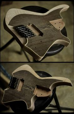 Black Water Guitars!  Headless!  can't wait to see this done!!!!