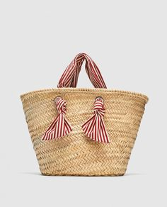 New clothes and accessories updated weekly at ZARA online. Zara, Ethnic Bag, Diy Bags Purses, Diy Tote Bag, Striped Bags, Latest Bags, Bold Jewelry, Basket Bag, Summer Bags