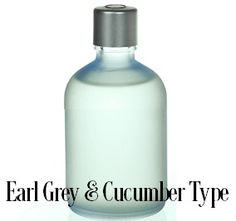 EARL GREY CUCUMBER, JO MALONE FRAGRANCE OIL TYPE - A fragrance with a burst of bergamot, an afternoon tea - distinct to Earl Grey, and the cool succulence of crunchy cucumber with base notes ofbeeswax, vanilla and musk. Reviving and refined. Cool. Clean and Crisp.  Excellent in soy and safe for bath and body 200 degree FP PHTHALATE FREE