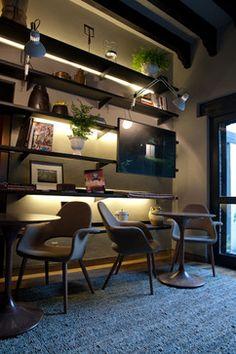 bookcase contemporary wall shelves