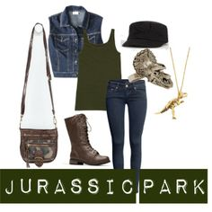 """Jurassic Park"" by air4everme on Polyvore"