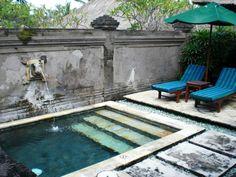 piscine petit jardin - Recherche Google Backyard Pool And Spa, Backyard House, Backyard Pool Landscaping, Swimming Pools Backyard, Swimming Pool Designs, Backyard Ideas, Lap Pools, Indoor Pools, Landscaping Ideas