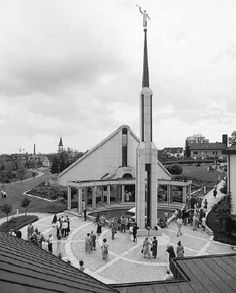 Frankfurt Temple Temple of The Church of Jesus Christ of Latter-day Saints. #Mormon #LDS
