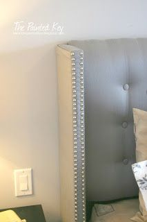 I Like The Square Headboard So You Have A Little Cave To Put Your Head In. Diy  Tufted HeadboardHeadboard IdeasDiy ...