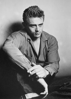 James Dean photographed by Roy Schatt, NYC, 1954.