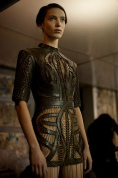 5.12.15 Iris Van Herpen's Mesmerizing Spring Summer 12 Couture Collection