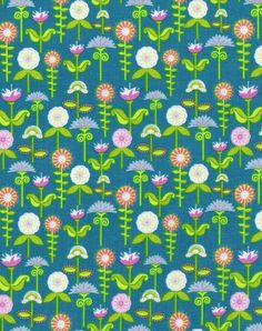 Flower fabric from Riley Blake Designs.