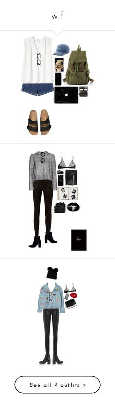 """""""w f"""" by lucky-luci ❤ liked on Polyvore featuring Rebecca Taylor, SO, Impossible Project, Barneys New York, rag & bone, T By Alexander Wang, Yves Saint Laurent, Quay, Eos and Jil Sander"""